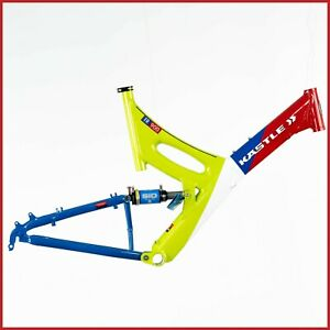 NOS KASTLE FR900 FRAME VINTAGE FULL MTB DH 90s ROCK SHOX SID FREERIDE NEW ALLOY