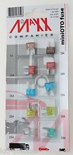 10 Mini 5-30A Sicherung Stecksicherung Flachsicherung Kfz Auto oto Mini PKW MAXX