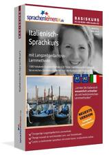 ITALIENISCH-BASIS-Sprachkurs  CD ROM + MP3-AudioCD+ mobile Version/ bzw Download