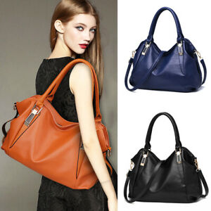 Women Faux Leather Shoulder Bag Tote Purse Messenger Handbags Crossbody Satchel