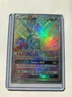 RAINBOW SECRET HYPER FULL ART RARE Dialga GX 138/131 Pokemon Forbidden Light NM