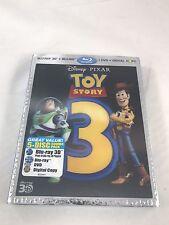 TOY STORY 3 Disney Pixar 5-Disc Blu Ray 3D / Blu Ray / DVD / Digital Copy NEW!