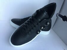 $450.00 JOHN GALLIANO Paris Fashion Studded Leather Sneakers Size 10M  Italy