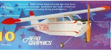 Aerographic Lacey M10 Balsa avión Kit-Ideal Arrancador Avion-gran diversión en familia!