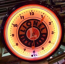 "Lionel 20"" Neon Clock"