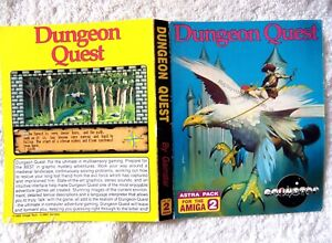 60959 Instruction Inlay Art - Dungeon Quest - Commodore Amiga (1989)