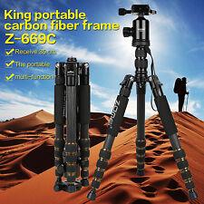 Zomei Z669C Professionelle Kohlefaser Tripod Stative Einbeinstativ für Kamera