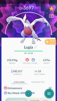 Pokemon Trade GO - Shiny Lugia Level 40 Max CP for PVP Master League