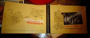 Ancien Livret Programme de la Foire Technique et d'Echantillon de Leipzig 1953