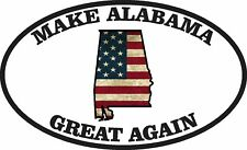 MAKE AMERICA GREAT AGAIN ALABAMA MAGA TRUMP FLAG DECAL STICKER POLITICAL