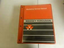 Massey Ferguson 4200 4300 Tractor Workshop Repair Service Manual 1449494M4  2003