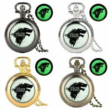 Pendant The Avengers Theme Watches New Modern Analog Pocket Watch Quartz Chain