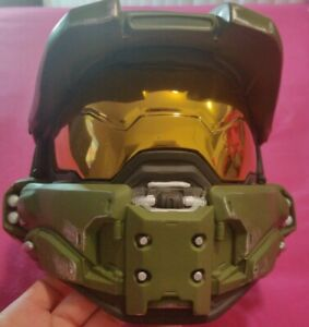 Halo Master Chief Wearable Collectors Helmet Opening 10X7.5