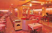 Washington DC 1960s Postcard Restaurant 823 Bavarian Restaurant