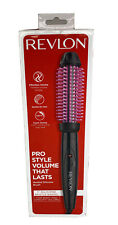 "Revlon Pro Collection Heated Silicone Bristle Curl Brush - 1"" - Black"