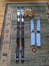Dynafit Blacklight Pro Skis w Speed Radical Bindings & Dynafit Speed Skins