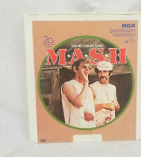 SelectaVision CED Video Disk The Motion Picture MASH
