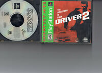 Driver 2 with manual (Sony PlayStation 1, 2000) PS1 Used plus Driver