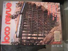 **k Loco Revue n°516 Vapeur vive Ile de France  Rivarossi  VUT à Saint Grégoire