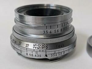 Leica M3 Ernst Leitz GmbH Wetzlar Summaron LENS f/3.5 35mm  CLA &  Tested
