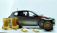 Kit street racing Renault Clio RS 1/18 Transkit Norev Solido Tuning Accessori