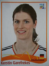 PANINI Kerstin Garefrekes Germania FIFA donne WM 2011 GERMANY