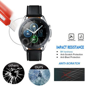 For Samsung Watch 3 Screen Protector Tempered Glass Durable High Quality UK