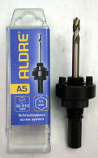 Holesaw / Hole Saw Arbor Screw System - 11mm Hex Shank - Fits 32-210mm