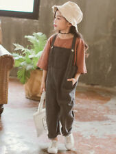 Summer Loose Solid Fashion Overall Pants - Gray (XYG060660)