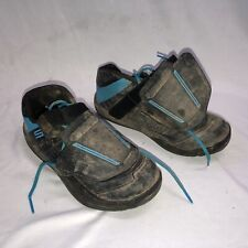 Shimano Cycling AM9 Men's MTB Downhill Shoes EUR 41 w/ Used Cleats Black/Blue