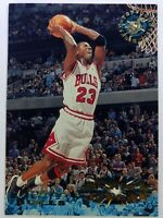 1995-96 Topps Stadium Club Michael Jordan #1, Chicago Bulls, HOF