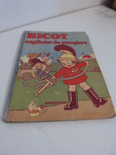 bande dessinée bicot ,capitaine des pompiers ,n°9 , 1934 (cp07)