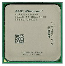 ESP AMD Phenom X4 9950 HD995ZXAJ4BGH (4 Núcleos, 2.6 GHz) AM2+, Black Edition