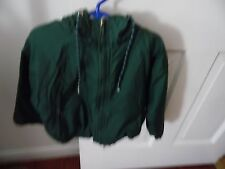 Boys Size 4 Charles River Green Jacket With Hood