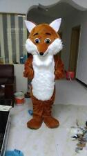 New FOX  Mascot Costume Fancy Dress Adult Suit Size R117-1