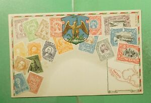 DR WHO MEXICO UNUSED POSTCARD STAMPS  g18914
