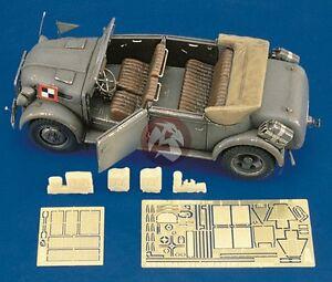 Royal Model 1/35 Steyr Kommandeurwagen Type 1500A Update Set (for Tamiya) 221