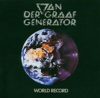 Van Der Graaf Generator World Record CD+Bonus Tracks NEW 2005 Digital Remaster