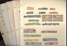US, Excellent accumulation of USED  BOB(Airmail, SD, Parcel Post &) Stamps in