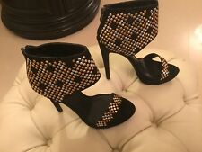 Ladies New Glam Party Clubbing High Heel Shoes Size 5
