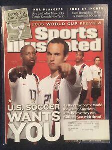 6.5.2006 USA WORLD CUP SOCCER Sports Illustrated Donovan, Beaz, Gooch & Bobby