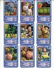 "LOT DE 9 CARTES DISNEY AUCHAN  ""TOY STORY 3""......."