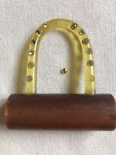 Very Interesting Plastic Button Vintage Padlock Shaped