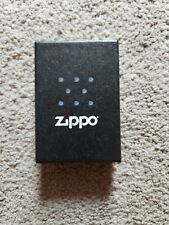 ZIPPO Brushed Finish Chrome Lighter Item 200 NEW IN BOX Guaranteed FOR LIFE!