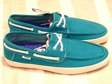 Vans Chauffeur 'Aqua' Mens New (Size US8.5 Men) Casual skate Canvas Loafer Ultra