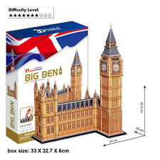 Cardboard 3D Puzzles Big Ben Jigsaw Jumbo Size Puzzle Children Educational MC087
