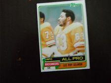 Lee Roy Selmon - 1981 Topps #410 - Oklahoma Sooners / Tampa Bay Buccaneers HOFer