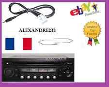 CABLE MP3 PEUGEOT CITROEN AUTORADIO RD4 + 2 CLÉS EXTRACTEUR