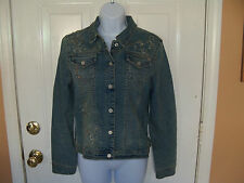 Limited Too Jean Jacket Size XL Girl's EUC FREE USA SHIPPING