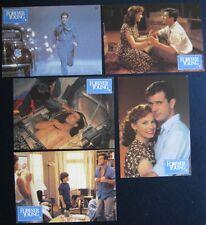 5 AF`s / lobby cards  Forever Young   Mel Gibson , J.L.Curtis , Elijah Wood